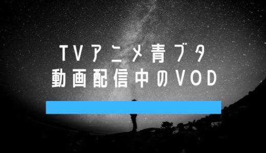 青ブタの動画を配信中のVOD・視聴できる動画配信サービスはコレ!